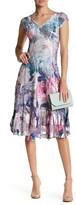 Komarov Lace Hem Dress