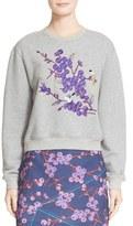 Carven Women's Embroidered Sweatshirt