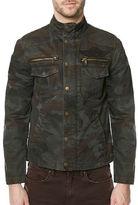 Buffalo David Bitton Mockneck Camo Jacket