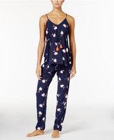 Lucky Brand Cotton Tassel Pajama Set