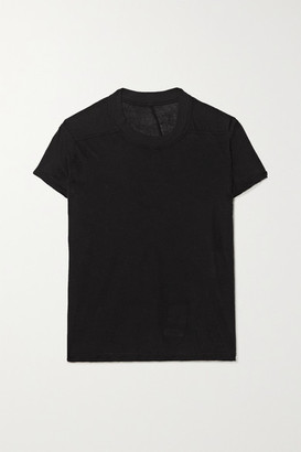 Rick Owens Small Level Cotton-jersey T-shirt - Black