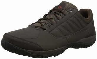 Columbia Men's RUCKEL Ridge Hiking Shoes Brown (Cordovan Rusty) 7 UK 41 EU