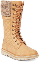 White Mountain Cliffs by Karline Quilted Cold-Weather Boots