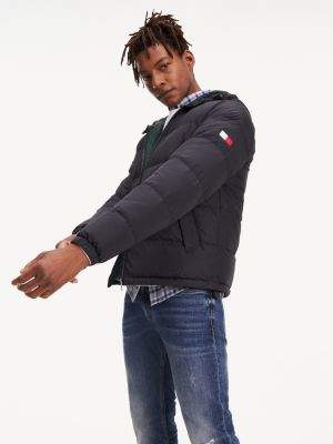 Tommy Hilfiger Recycled Down Hooded Bomber