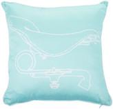 Trussardi Velodromo Bed Cushion - 40x40cm - 004 Acqua