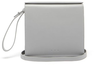 Aesther Ekme Pouch Leather Cross-body Bag - Grey