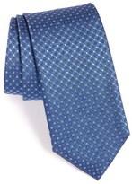 Canali Men's Grid Silk Tie