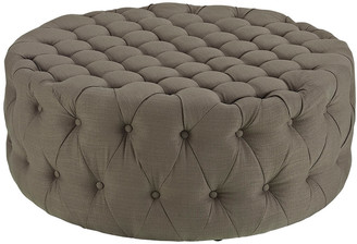 Modway Amour Upholstered Fabric Ottoman