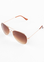 Missy Empire Danna Brown Framed Sunglasses