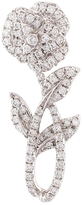 Yvonne Leon Rose Stem Diamond Earring