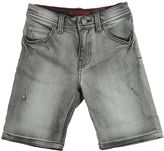 Zadig & Voltaire Stonewashed Stretch Denim Jean Shorts