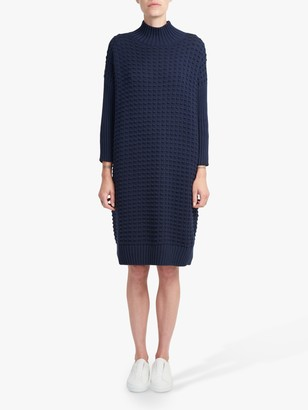 French Connection Popcorn Knit Dress, Nocturnal