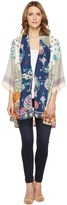 Johnny Was Mixed Prints Kimono Women's Clothing