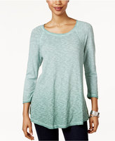 Style&Co. Style & Co Melange Top, Only at Macy's