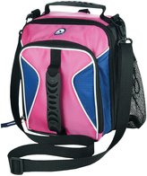 Igloo Hot Bright Vertical Lunch Bag, Charged Pink/Blue