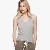 James Perse Brushed Jersey Racerback Tank