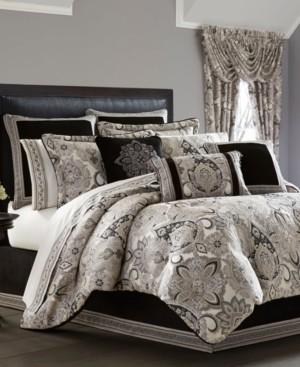 J Queen New York J. Queen 4-Pc. New York Guiliana Queen 4-Pc. Comforter Set Bedding