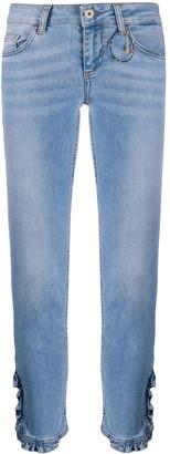 Liu Jo Low-Rise Cropped Jeans