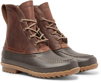 Quoddy Field Waterproof Leather And Eva Boots