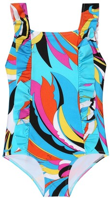 Emilio Pucci Kids Printed swimsuit