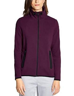 Cecil Women's 252867 Sweat Jacket,X-Large