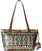 Sakroots Artist Circle Small Satchel Tote Handbags