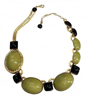 Philippe Ferrandis Khaki Gold plated Necklaces
