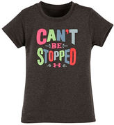 Under Armour Girls 2-6x Cant Be Stopped Tee