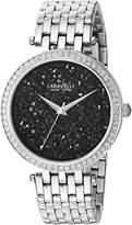 Bulova Women's Quartz Stainless Steel Casual Watch, Color:Silver-Toned (Model: 43L199)