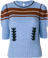 Miu Miu puff sleeve jumper