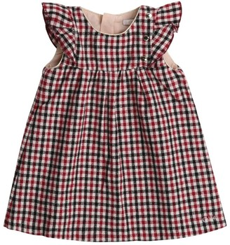 Chloé Kids Check Ruffled Dress (6-36 Months)