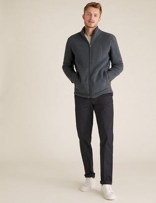 Marks and Spencer Zip Up Sherpa Fleece Jacket
