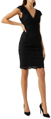 Lipsy V-Neck Lace Dress