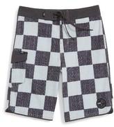 Vans Boy's 'Mixed Scallop' Board Shorts