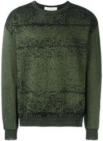Golden Goose Deluxe Brand pixelated lurex jumper