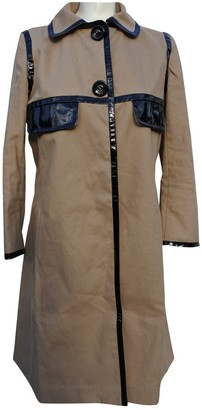 Anya Hindmarch Beige Cotton Trench coats