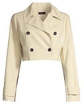Donna Karan Women's Double Breasted Short Jacket
