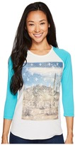 Rock and Roll Cowgirl 3/4 Sleeve Tee 48T3529 Women's T Shirt