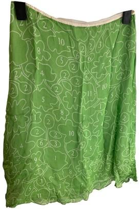 JC de CASTELBAJAC Green Viscose Skirts