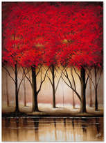 Trademark Global Rio 'Serenade in Red' Large Canvas Wall Art
