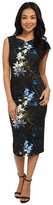 Ted Baker Twlight Floral Fitted Dress