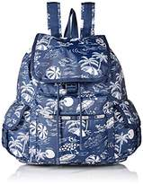Le Sport Sac Voyager Back pack, Hawaiian Getaway, One Size