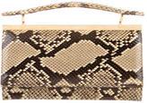 Judith Leiber Snakeskin Handle Bag