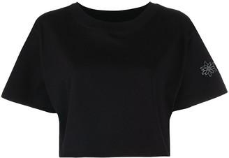 Styland cropped jersey T-shirt
