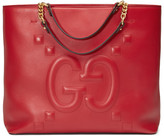 Gucci Embossed GG leather tote