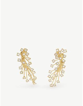 Panconesi Arch cascade clip-on earrings