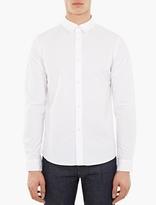 A.P.C. White Cotton Casual Shirt