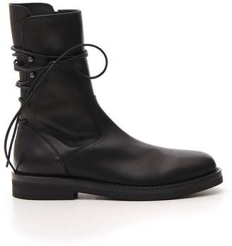 Ann Demeulemeester Lace Fastened Boots