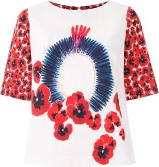 Isolda printed Luiza blouse