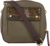 Accessorize Abby Snake Flap Camera Bag